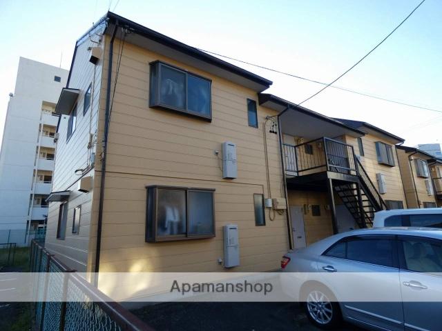 静岡県浜松市中区、浜松駅徒歩7分の築25年 2階建の賃貸アパート