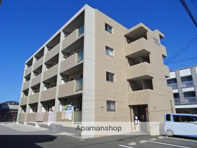 静岡県浜松市中区、浜松駅バス35分瑞穂神社西下車後徒歩5分の築2年 4階建の賃貸マンション