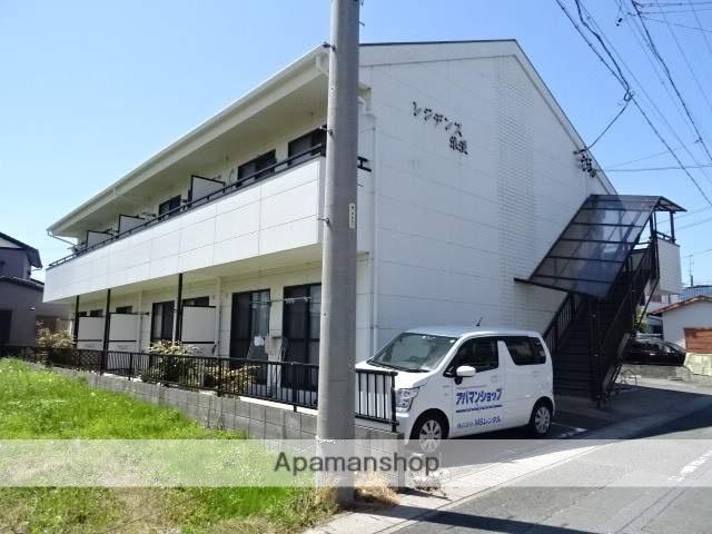 静岡県浜松市南区、浜松駅遠鉄バスバス24分四本松北下車後徒歩5分の築12年 2階建の賃貸アパート