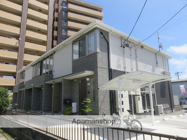 静岡県浜松市中区、浜松駅バス6分領家郵便局下車後徒歩3分の新築 2階建の賃貸アパート