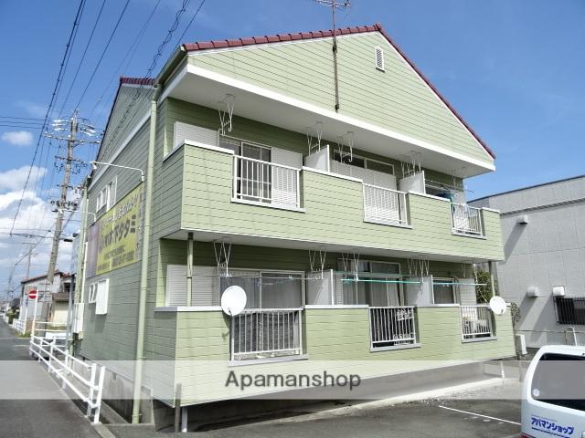 静岡県浜松市中区、天竜川駅徒歩40分の築29年 2階建の賃貸アパート