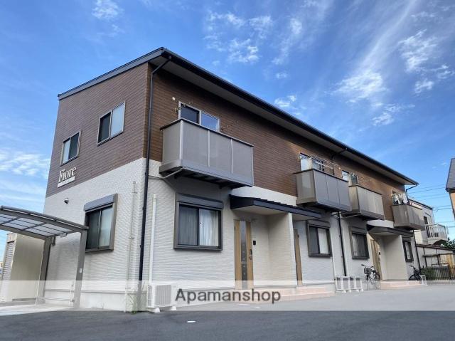 静岡県浜松市中区、浜松駅バス20分上島北下車後徒歩4分の新築 2階建の賃貸アパート