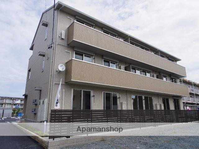 静岡県浜松市中区、浜松駅バス25分萩丘小学校前下車後徒歩5分の新築 3階建の賃貸アパート
