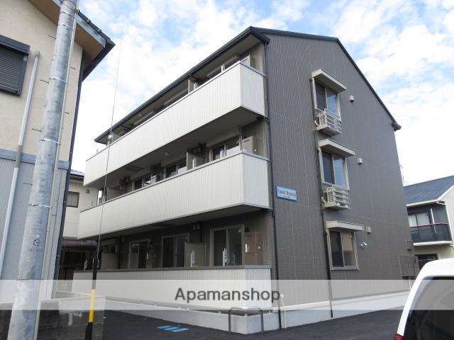 静岡県浜松市中区、浜松駅徒歩18分の新築 3階建の賃貸アパート