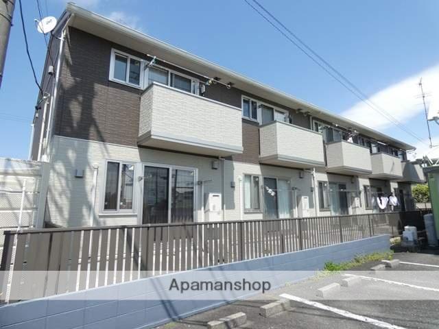 静岡県浜松市東区、浜松駅バス35分下石田下車後徒歩4分の新築 2階建の賃貸アパート