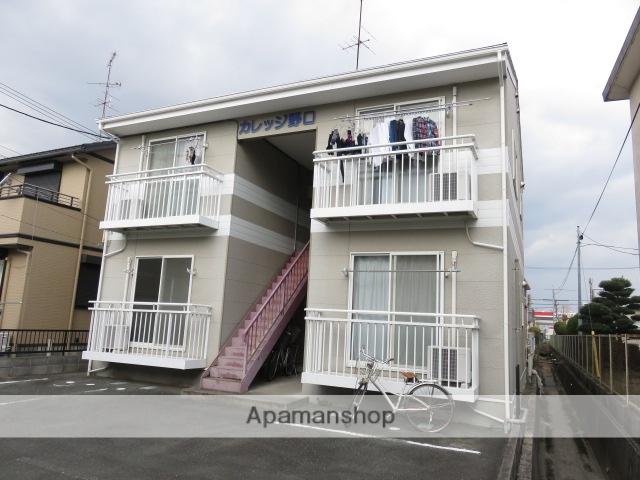 静岡県浜松市中区、浜松駅バス12分新津町下車後徒歩2分の築15年 2階建の賃貸アパート