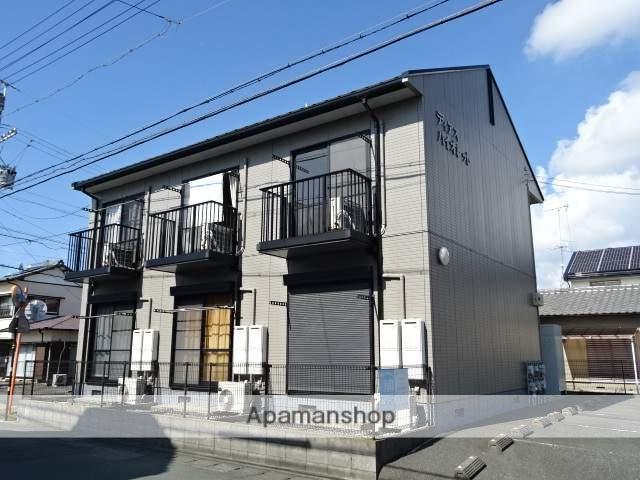 静岡県浜松市南区、浜松駅遠鉄バスバス13分芳川下車後徒歩6分の築17年 2階建の賃貸アパート