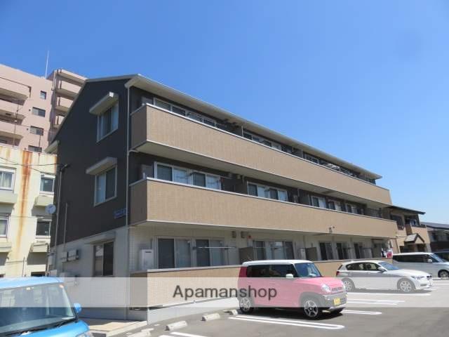静岡県浜松市中区、浜松駅徒歩12分の新築 3階建の賃貸アパート