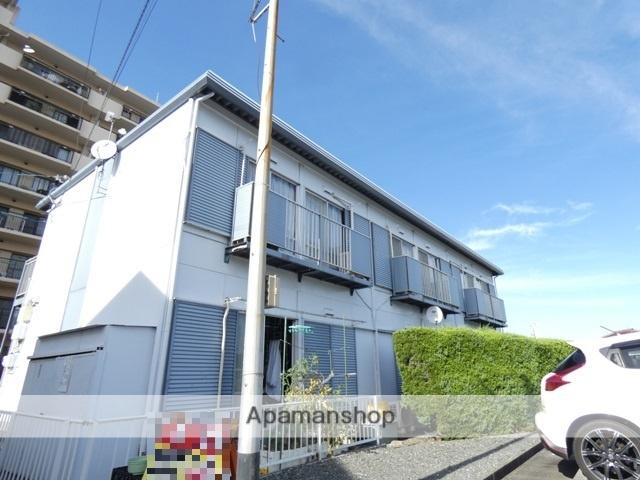 静岡県浜松市南区、浜松駅遠鉄バスバス11分西伝寺下車後徒歩6分の築32年 2階建の賃貸アパート