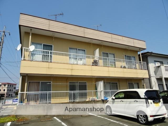 静岡県浜松市東区、遠州西ヶ崎駅徒歩30分の築32年 2階建の賃貸アパート