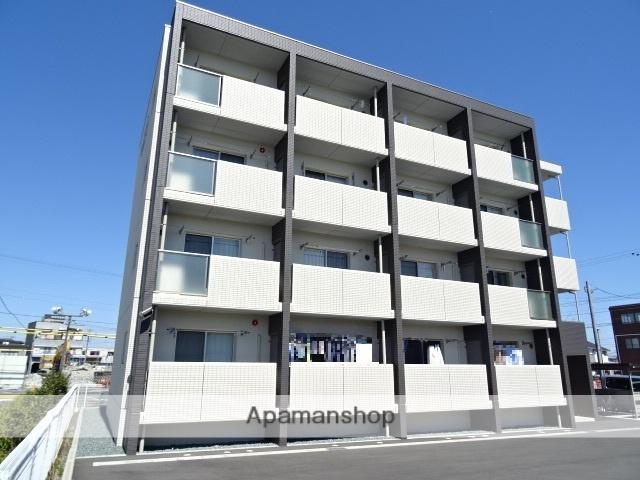 静岡県浜松市東区、天竜川駅徒歩7分の新築 4階建の賃貸マンション