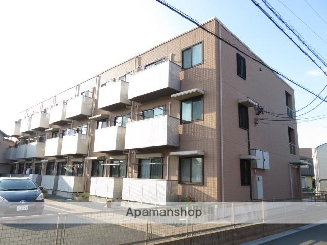 静岡県浜松市中区、浜松駅遠鉄バスバス8分駒形橋下車後徒歩4分の築9年 3階建の賃貸アパート