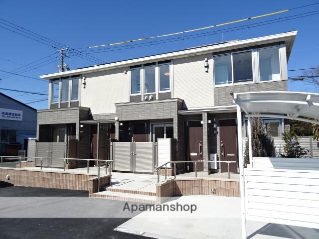 静岡県浜松市東区、天竜川駅徒歩26分の新築 2階建の賃貸アパート