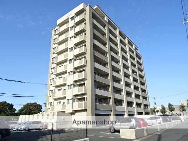 静岡県浜松市東区、天竜川駅徒歩14分の築12年 10階建の賃貸マンション