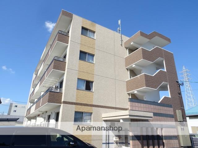 静岡県浜松市東区、天竜川駅徒歩25分の新築 4階建の賃貸マンション
