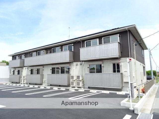 静岡県浜松市東区、浜松駅遠鉄バスバス35分笠井下車後徒歩11分の新築 2階建の賃貸アパート