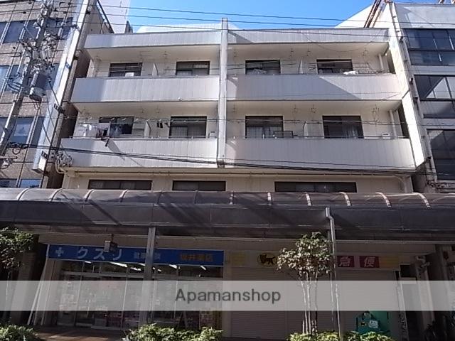 静岡県浜松市中区、浜松駅徒歩3分の築34年 4階建の賃貸マンション