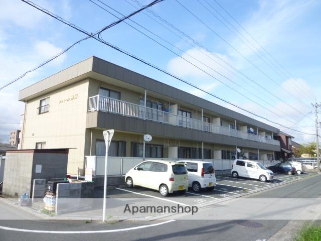 静岡県浜松市中区、浜松駅遠鉄バスバス15分春日町下車後徒歩3分の築27年 2階建の賃貸アパート