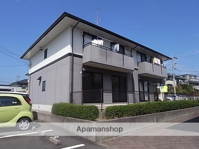 静岡県浜松市東区、浜松駅遠鉄バスバス30分半田山下車後徒歩4分の築19年 2階建の賃貸アパート