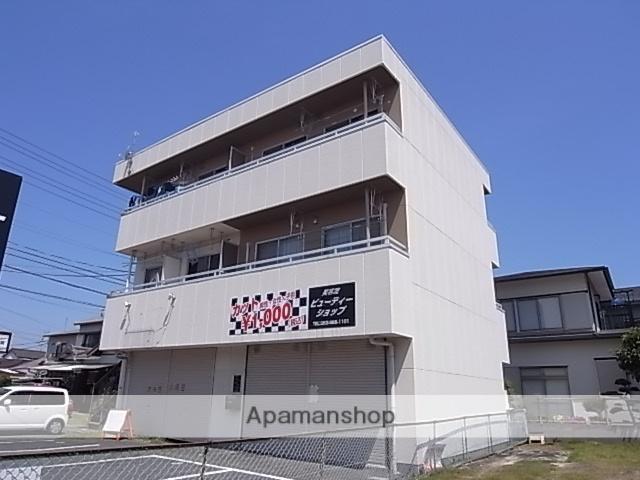 静岡県浜松市中区、浜松駅遠鉄バスバス5分領家郵便局下車後徒歩2分の築32年 3階建の賃貸アパート