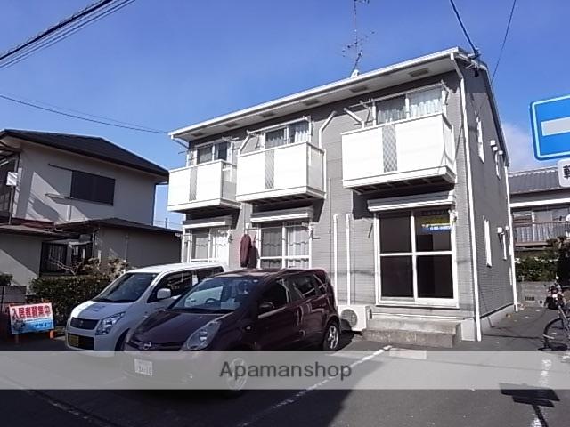 静岡県浜松市中区、浜松駅遠鉄バスバス15分浜商前下車後徒歩10分の築20年 2階建の賃貸アパート