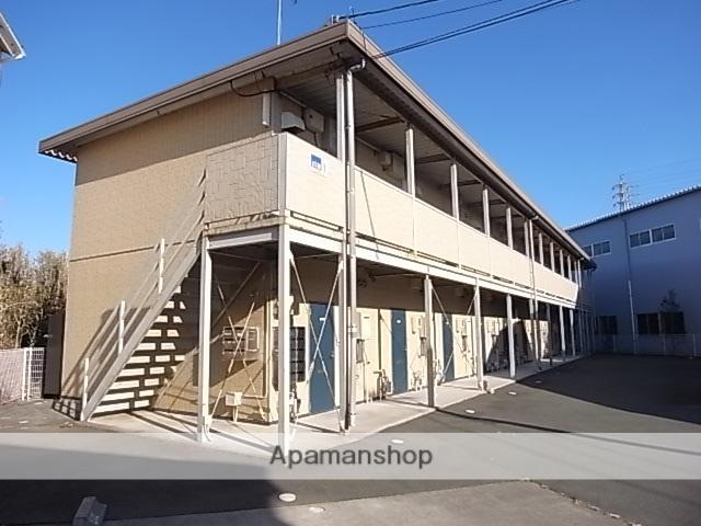 静岡県磐田市、磐田駅遠鉄バスバス12分海老島下車後徒歩15分の築12年 2階建の賃貸アパート
