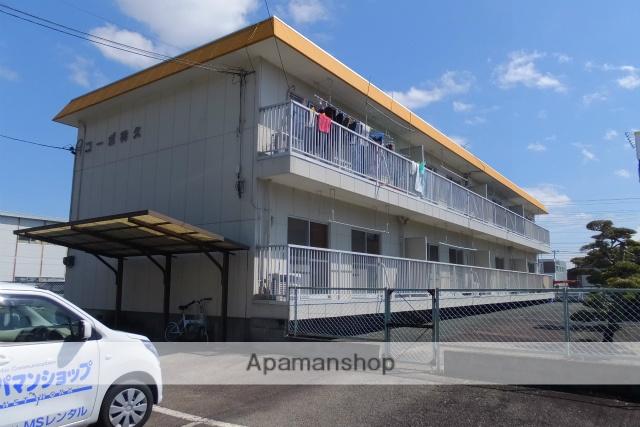 静岡県浜松市中区、浜松駅バス18分高林西下車後徒歩3分の築30年 2階建の賃貸アパート