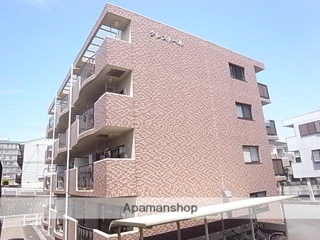 静岡県浜松市中区、浜松駅遠鉄バスバス15分和地山下車後徒歩3分の築21年 4階建の賃貸マンション
