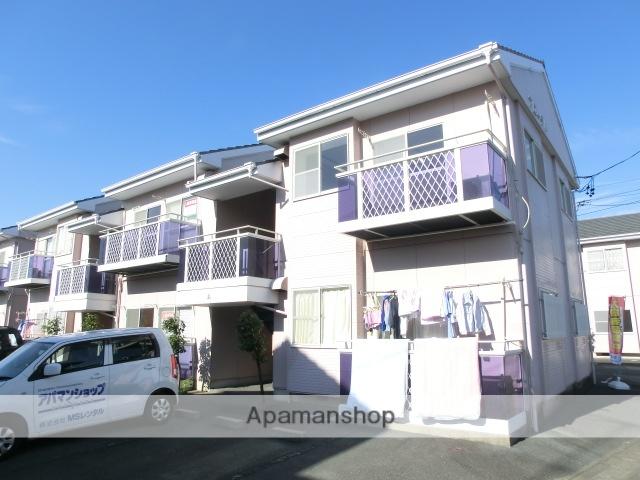 静岡県磐田市、豊田町駅徒歩5分の築23年 2階建の賃貸アパート