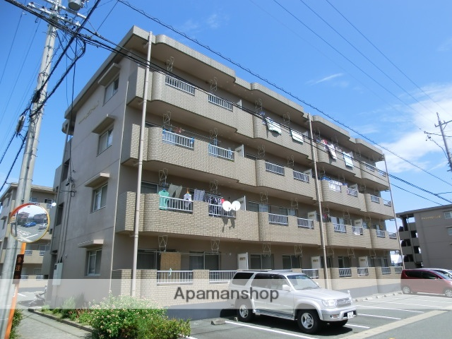 静岡県磐田市、豊田町駅徒歩5分の築24年 4階建の賃貸マンション