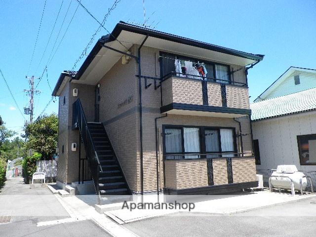 静岡県磐田市、磐田駅遠鉄バスバス15分気賀下車後徒歩2分の築16年 2階建の賃貸アパート