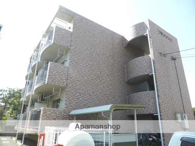 静岡県浜松市中区、浜松駅遠鉄バスバス14分博物館下車後徒歩2分の築15年 3階建の賃貸マンション