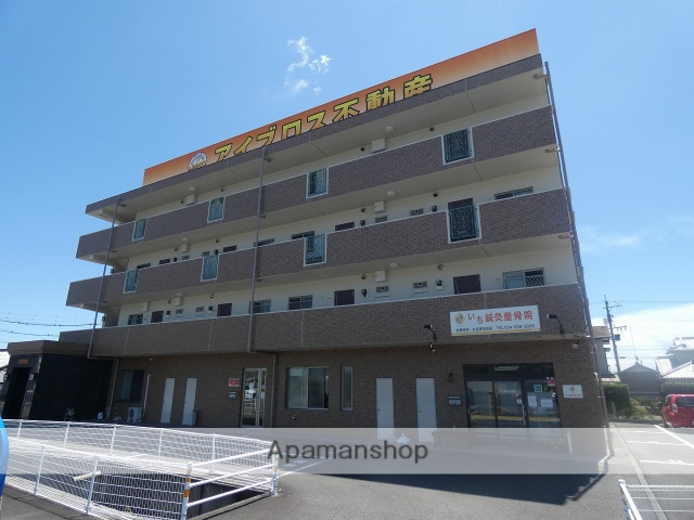 静岡県藤枝市、六合駅徒歩20分の築10年 4階建の賃貸マンション