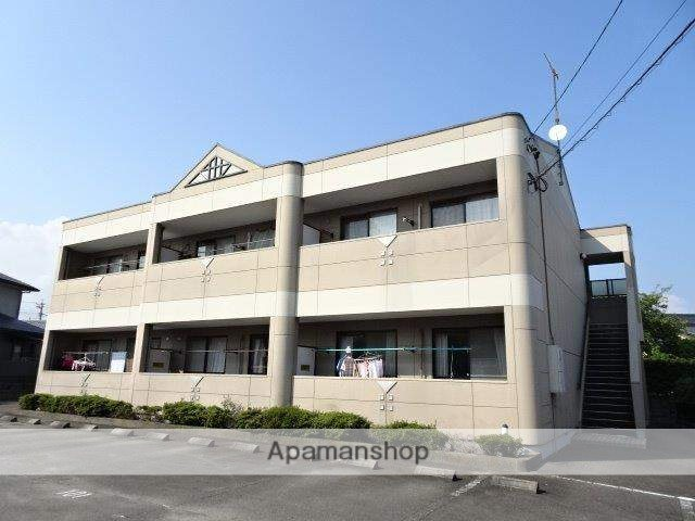 静岡県島田市、島田駅徒歩15分の築17年 2階建の賃貸アパート