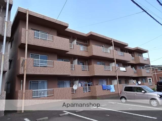 静岡県島田市、六合駅徒歩20分の築26年 3階建の賃貸マンション