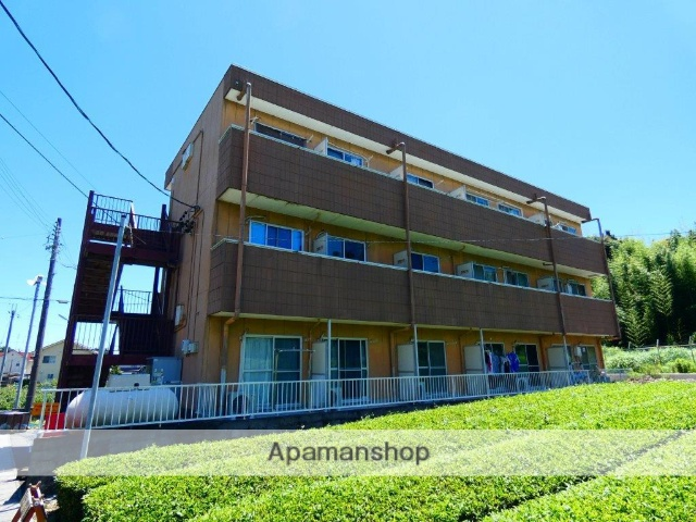 静岡県島田市、六合駅徒歩74分の築25年 3階建の賃貸マンション