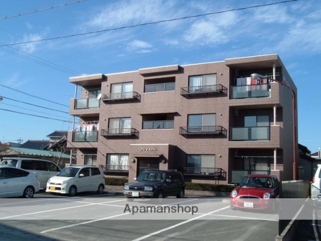 静岡県袋井市、袋井駅徒歩15分の築16年 3階建の賃貸マンション