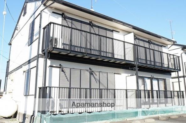 静岡県袋井市、袋井駅遠鉄バスバス15分上新池下車後徒歩10分の築18年 2階建の賃貸アパート