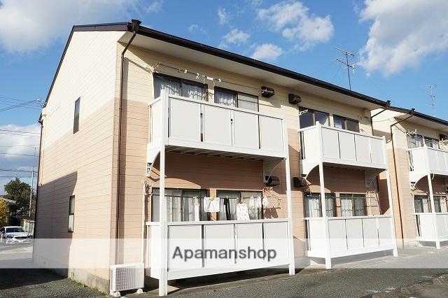 静岡県袋井市、袋井駅徒歩15分の築29年 2階建の賃貸アパート