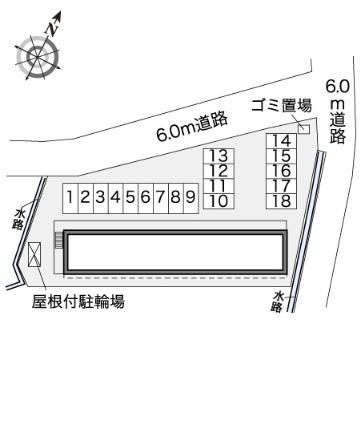 レオパレスわしず[1K/21.81m2]の内装1