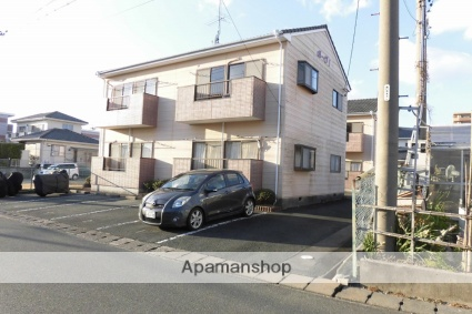 静岡県袋井市、袋井駅徒歩17分の築23年 2階建の賃貸アパート