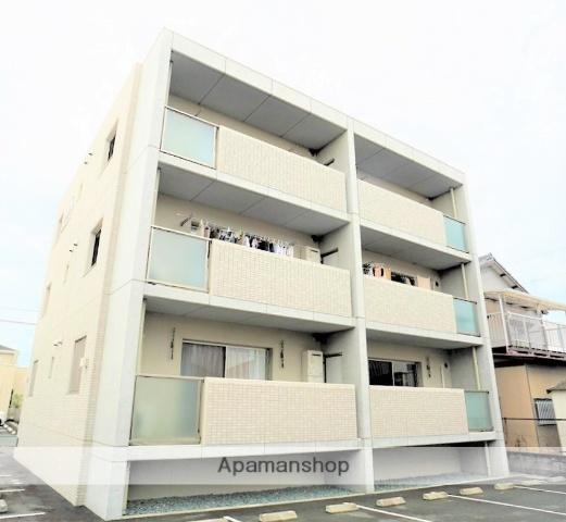 静岡県浜松市浜北区の築2年 3階建の賃貸マンション