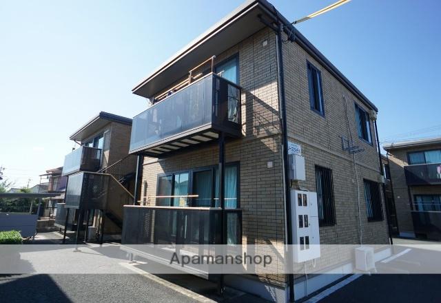 静岡県浜松市浜北区、遠州西ヶ崎駅徒歩18分の築13年 2階建の賃貸アパート