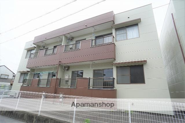 静岡県浜松市浜北区、遠州小松駅徒歩14分の築29年 2階建の賃貸アパート