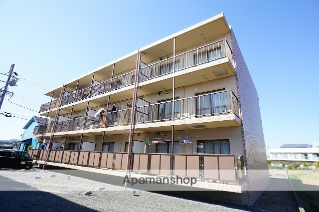 静岡県浜松市浜北区、宮口駅徒歩29分の築18年 3階建の賃貸マンション