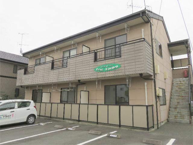 静岡県袋井市、袋井駅静鉄バスバス20分芝八幡前下車後徒歩5分の築14年 2階建の賃貸アパート