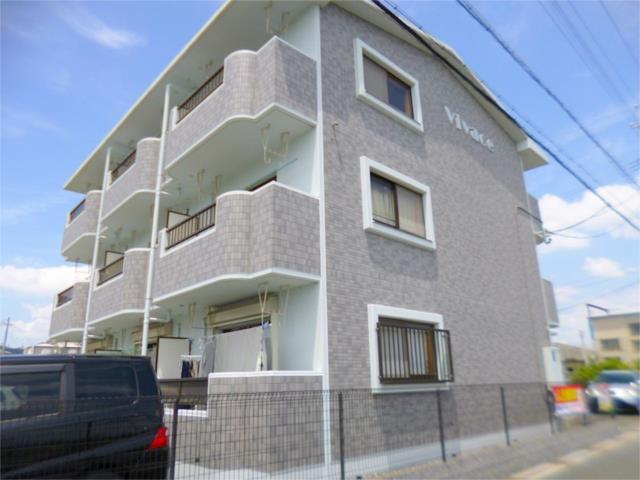 静岡県磐田市、磐田駅徒歩10分の築16年 3階建の賃貸マンション