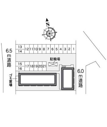 レオパレスグレンツェ[1K/21.81m2]の内装1