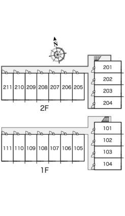 レオパレスグレンツェ[1K/21.81m2]の内装2