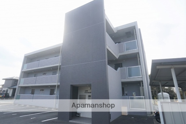 静岡県浜松市浜北区、浜北駅徒歩16分の築2年 3階建の賃貸マンション